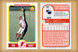 custom baseball cards retro 75 custom baseball card custom baseball card created flickr