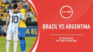 Brazil v Argentina prediction, betting ...