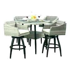 outdoor bar height dining table and chairs outdoor bar bistro table set height patio elegant dining