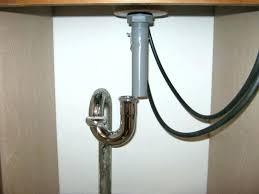 pvc sink drain plumbing bathroom sink trap installing bathroom sink drains off slightly less than pipe pvc sink drain