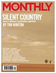 silent country travels through a recovering landscape the monthly cover 2008
