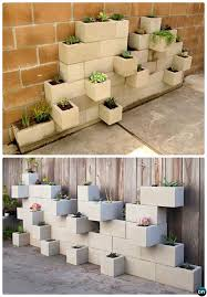 diy vertical cinder block garden planter 10 simple cinder block garden projects