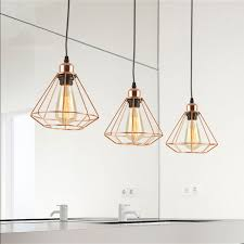 china vintage gold polishing finished polygon wire pendant light for art deco kitchen loft and more china hanging lamp pendant lamp
