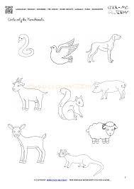 Farm Animals Worksheet - Activity Sheet 3