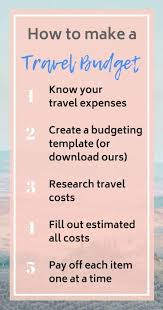 vacation expense calculator vacation cost calculator make a travel budget you can
