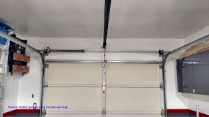 anyone had experiance with ez set garage torsion springs archive how to install garage door
