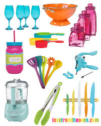 Colorful Kitchen Colorful Kitchen Accessories Fun Friday Finds Love From The Oven