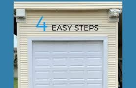 painting garage doors tutorial