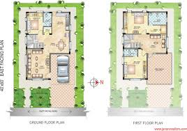 house plan 60 x 40 luxury beautifully idea 20 x 40 house plans east facing 1