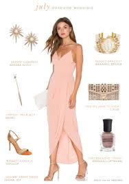 What To Wear To An Outdoor July Wedding Wedding Guest Outfits 2016