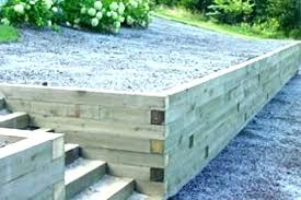 timber retaining wall cost wood retaining walls cost retainer wall wood retaining wall construction landscape wood timber retaining wall cost