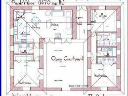 house plans with center courtyard pool lovely house courtyard pool house plans