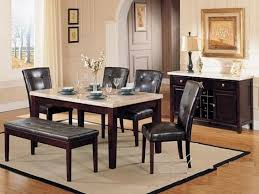 dining table parson chairs interior:  pc britney white marble top dining table set with brown leather like vinyl upholstered parson chairs this set includes the dining table with white marble