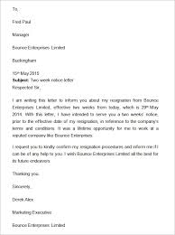 2 Week Notice Letter For Work Writing A 2 Week Notice Homework Example Xtessayakgd Lcidpa Us