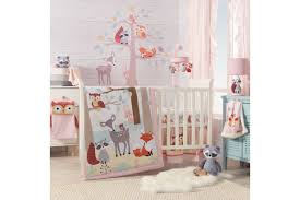little woodland 4 piece crib bedding set by lambs ivy from gardner white