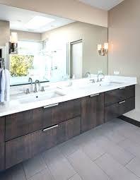 2 sinks in bathroom separate vanities inch vanity offset sink white shaker drawers open shelf w