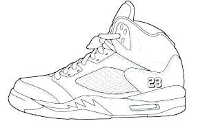 coloring pages of shoes basketball shoes coloring pages shoe free sneaker for google p coloring book