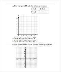 15 Coordinate Geometry Worksheet Templates   Free PDF Documents ...