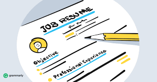 Resume Objective Valuable To Have Or Thing Of The Past Grammarly