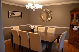 Brown Trim Paint Dining Room Colors Brown Traditional Dining Room In Soft Neutrals