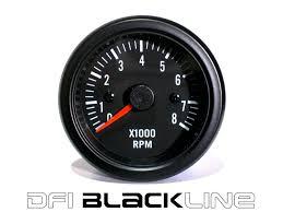 auto gauge wiring diagram tachometer images dfi blackline universal meter gauge 52mm rpm tacho