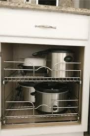Diy Storage Under Kitchen Cabinets Diy Cabinet Rollouts Kitchen