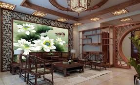 Chinese Interior Design Living Room Elegant Chinese Interior Design