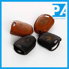 iran ikco khodr samand saipa leather key fob cover