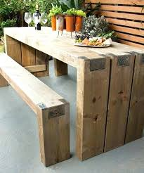 outdoor coffee table plans inspirational plans to build outdoor furniture for fantastic wood patio table plans