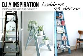 ladder decor new life for ladders ideas tutorials in sideways hanging decorating old wooden best old wooden ladders