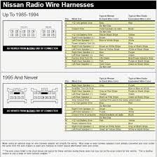 2019 Nissan Color Chart Nissan Radio Wiring Color Codes Get Rid Of Wiring Diagram