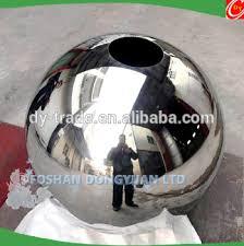 Stainless Steel Decorative Balls Stainless Steel BallInox Steel OrbsHollow Steel Sphere For Hotel 91