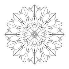 Coloring Mandalas Kleuren Mandalas Mandalas Para Colorear En