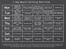 muscle gain diet plan 7 days trainers share 13 tips to bodybuilding diet plan for mass