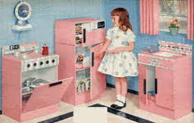 kenmore kitchen playset. rite-hite all steel kitchen from the 1950s kenmore playset