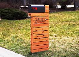 modern mailbox ideas. Image Of: Diy Modern Mailbox Ideas H