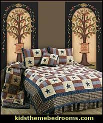 Americana decor primitive Colonial & Country style - country decor ... & Covington Patriotic Americana Quilts-patriotic americana wall murals Adamdwight.com