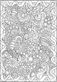 Small Picture 356 best Doodles to Color images on Pinterest Coloring books
