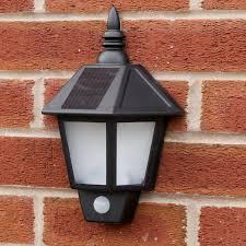 pir motion sensor solar recharged security 3 mode solar outdoor wall lights uk designs