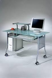 marvelous modern glass computer desk modern glass desk design for home office laflat interior