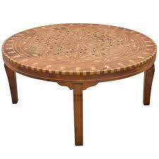 furniture brown round carved wood indian coffee table designs ideas as living room furniture hi
