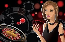 1,416 Casino girl Vector Images, Casino girl Illustrations | Depositphotos