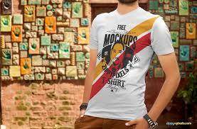 Mockup Shirt Design Free T Shirt Design Mockup Zippypixels