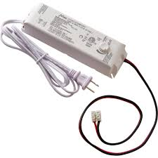 commercial electric 60 watt 12 volt led lighting power supply with dimmer 17065 the home depot