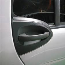 Newbee For Benz Smart Fortwo 3D Carbon Fiber Car Sticker Door Handle