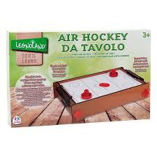 legnoland 37204 jeu de hockey sur table en bois