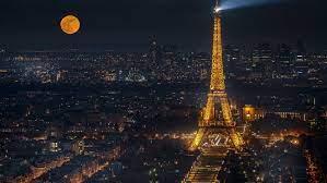 Eiffel Tower Night Full Hd 1080p ...