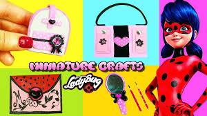 5 Minutes Miniature <b>Miraculous</b> Ladybug Crafts - Book <b>Bag</b> ...