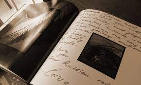 coffee table book as a guest book