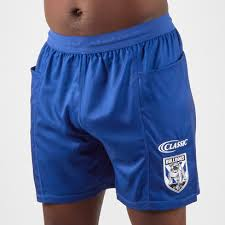 classic sportswear canterbury bulldogs 2019 nrl players rugby training shorts